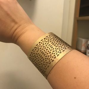 "Park*Lane Jewelry ""Clayton"" Matte Gold Bracelet"